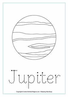 jupiter word tracing