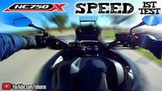 whc speed honda nc750x dct 2020 speed and sound test