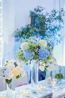 by the knot centerpieces blue wedding centerpieces blue wedding flower arrangements