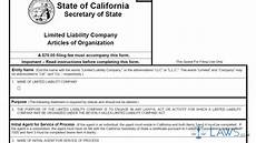articles of organization ca llc 1 youtube