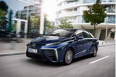 Toyota Mirai 2015 Hydrogen Fuel Cell Vehicle Review