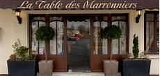 restaurant la table des marronniers maur des foss 233 s
