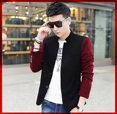 baju jaket blazer korea pria terbaru desain keren