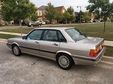 auto manual repair 1986 audi 4000s quattro electronic throttle control 1986 audi 4000 s quattro typ 85 classic audi 4000 quattro 1986 for sale