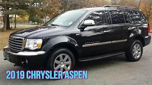 2019 Chrysler Aspen  Cars Specs Release Date Review