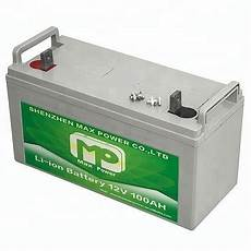 lithium ionen akku kaufen 12v 100ah lithium ion battery for solar systems buy