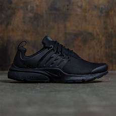 nike air presto essential black black black