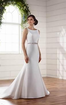 Silk Wedding Gowns wedding dresses structured silk wedding dress essense