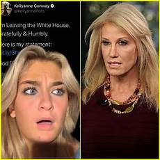 Kellyanne Conway Daughter Photo Kellyanne Conway S Daughter Claudia Reacts To Her