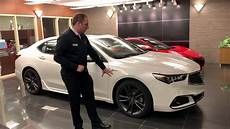 acura of limerick 2019 acura tlx 4cyl a spec full demonstration youtube