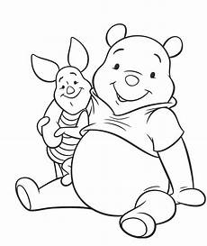 winnie de pooh and piglet coloring pages coloring home