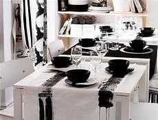 tischdeko in schwarz wei 223 inspirationsideen ikea