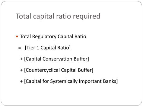 Basel Capital Ratio