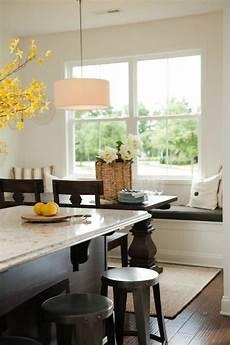 beadboard banquette cottage kitchen sabal homes sc
