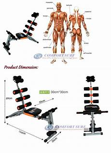 latest gym ab six pack care exercise machine fitness
