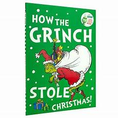 Grinch Malvorlagen Novel How The Grinch Stole By Dr Seuss Waterstones