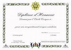 Notre Diplome D Honneur Etoile Civique