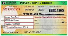 all money orders are accepted except personal money orders money orders should be made payable