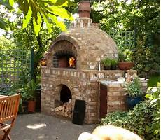 Garten Backofen Selber Machen Brick Garden Patio