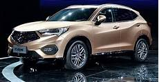 new acura cdx compact suv makes official debut at beijing
