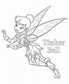 tinkerbell coloring pages free printables from