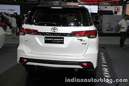 2016 Toyota Fortuner TRD Sportivo Rear At The Thai