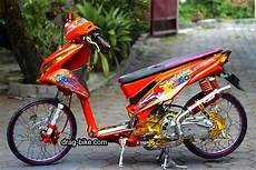 Modifikasi Motor Matic Beat by 50 Foto Gambar Modifikasi Beat Kontes Racing Jari