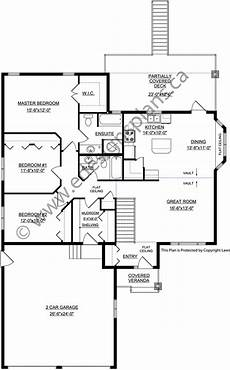 house plans bungalow with walkout basement bungalow plan 2014826 with walkout basement by e designs