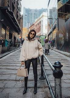 hong kong must see part i hong kong fashion autumn street style oversized hoodie outfit