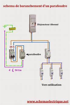 Montage D Un Parafoudre Sch 233 Ma Electrique D Installation Parafoudre Branchement
