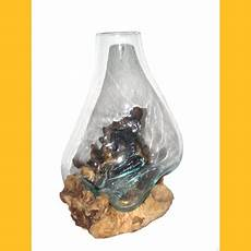 glas auf wurzelholz blumenvasen auf treibholz wurzel holz glas vasen