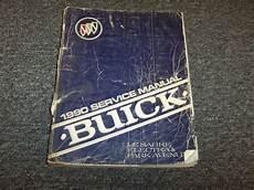 free car manuals to download 1990 buick coachbuilder windshield wipe control 1990 buick lesabre sedan shop service repair manual book custom limited 3 8l v6 ebay