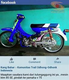 V75 Modif by Amazing Mesin Ktm 85 Se Ini Dicangkokkan Ke Motor Yamaha