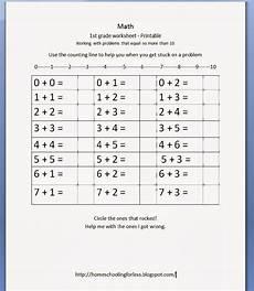 division worksheets homeschool math 6201 homeschooling for less 1st grade math worksheet free printable