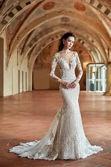 long sleeve eddy k bridal gowns designer wedding