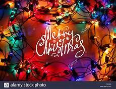 christmas lights frame background with merry christmas 86076508 alamy
