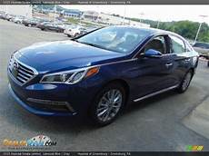 2015 Hyundai Sonata Blue by 2015 Hyundai Sonata Limited Lakeside Blue Gray Photo 5