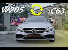 mercedes w205 convert to c63amg kit