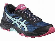 pro du sport asics gel fuji trabuco 5 bleue et chaussures de trail