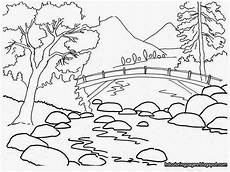 coloring pages of disney channel hd coloring page mountain river coloringpages
