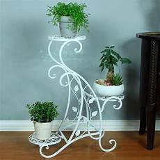 Pot Fleur Interieur Mode Fer Forg 233 Plancher Multi Couche Fleur Blanc Balcon