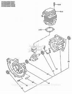 Subaru Cylinder Diagram by Robin Subaru Ec022 Parts Diagram For Crankcase Cylinder