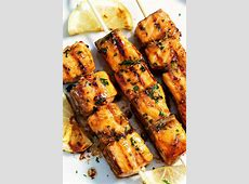 easy and delicious grilled teriyaki salmon steaks_image