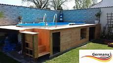 Pool Ohne Bodenplatte - achtformpool aufbauanleitung achtformbecken montage