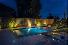 eclairage terrasse piscine amenagement piscine eclairage