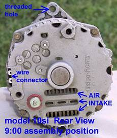 Chevy 3 Wire Alternator Wiring 1 2 Terminal by Technical Style Delco Alternator Confusion 1 Wire