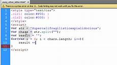 q a how to alternate text color using javascript youtube