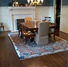 Rug Kitchen Table Size