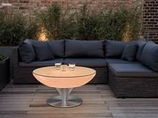 clubtisch rund lounge 45 led pro outdoor moree