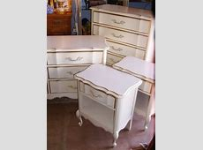 1960s French Provincial bedroom furniture, in the style
